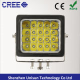 頑丈な160mm 12V-24V 100W 8000lmのクリー族LEDの農業機械ランプ