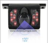 Vista posterior del coche universal cámara con LED