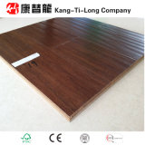 Suelo de madera de bambú tejido filamento