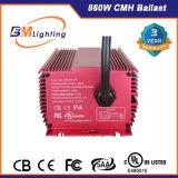 eletrônicos de baixa frequência ESCONDIDOS 1000W de Dimmable da lâmpada de xénon 860W crescem o reator claro do Hydroponics com UL