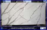 Künstliche Quarz-Stein Calacatta Dekoration-Küchecountertops-Farben
