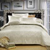 Conjuntos de cama de 100% algodão Jacquard Hotel