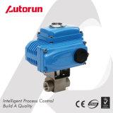 Шариковый клапан давления нержавеющей стали электрический сработанный высокий