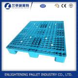판매 (1200X800mm)를 위한 옥외 갑판 선반 1ton 유럽 HDPE 플라스틱 깔판