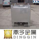 Behälter des Edelstahl-Bin/IBC für Flüssigkeit