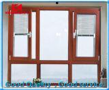 Ventana de cristal termal del marco Tilt/Awning de la rotura Aluminum/Aluminium