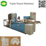 Automática en relieve de la servilleta de papel del tejido de la máquina plegable