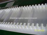 白いゴム製サイドウォールのコンベヤーベルト