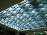 Kundenspezifischer wellenartig bewogener Leitblech-Decken-Aluminiumentwurf für Hotel