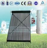 Sistema de aquecimento solar rachado de água da câmara de ar de vácuo