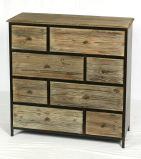 Шкаф античной стены деревянный для живущий комнаты
