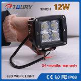 CREE 12W pour la lampe tous terrains de lumière de travail de l'automobile DEL de camion du véhicule 4WD de véhicule