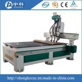 Пневматическая машина маршрутизатора CNC с 3 головками