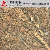 Giallo la Californie Yellow Golden Granite Tiles pour Kitchen Floor, Countertop