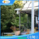 動きセンサーが付いているスマートな統合された太陽LEDの庭の街灯