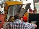 Compactor ролика дороги барабанчика двойника вибрации 3 тонн польностью гидровлический