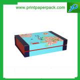 Cadre de bijou cosmétique personnalisé d'emballage de boîte-cadeau de parfum de bande de carton