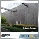 Revêtement gris de façade de granit de couleur en pierre de la façade G603 de prix de gros