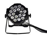 18 6in1 PCS 단계 점화를 위한 실내 LED 동위 빛