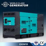 gerador Diesel elétrico silencioso de 250kVA Cummins (UC200E)