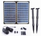 Fountainのための20W Solar Brushless Pump Kit