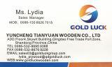 Fornecedores por atacado da madeira compensada/madeira compensada de madeira da melamina da grão