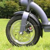[كربون ستيل] [سكوتر] كهربائيّة/منافس من الوزن الخفيف درّاجة كهربائيّة مع [36ف300و] محاكية كثّ مكشوف