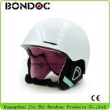 A segurança do capacete do esqui do capacete da neve do esqui ostenta o capacete