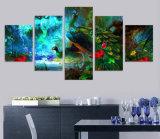 HD afgedrukt het Schilderen van de Pauw Dierlijk Canvas mc-085 van het Beeld van de Affiche van het Af:drukken van het Decor van de Zaal van het Af:drukken van het Canvas
