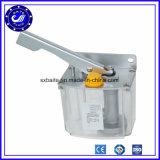 Bomba manual do lubrificador do petróleo da tração da mão com maquinaria da estaca do laser
