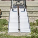 Rampa de alumínio da cadeira de rodas do carregamento (220440-220410)