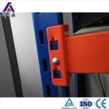 Scaffalatura d'acciaio resistente registrabile multilivelli