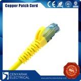 cuerda de corrección del cable de los 3m CAT6 UTP