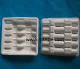 Het witte Plastic Dienblad van de Kleur voor 2ml de Ampullen van het Glas