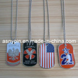 Ghana Metal Dog Tags für Man, Military Dog Tags für School