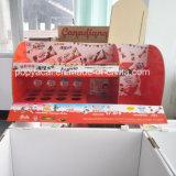 Ecran de comptoir en carton imprimé Cmyk pour chocolat, stand d'affichage en carton saisonnier pour la promotion!
