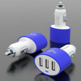 CE, FCC, RoHS Approved 3 Ports 4.2A Car Charger (NSDCC117-B)