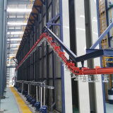 De elektrostatische Lopende band van de Deklaag van het Poeder Voor het Profiel van het Aluminium