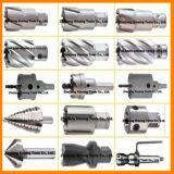 Ferramentas de corte com caixa de madeira HSS Conjunto de cortadores anulares. (DNHC)