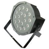 18 1W LED 단계를 위한 리모트를 가진 UV 바 검정 동위 점화