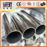Tubulação de aço soldada 1 polegada inoxidável Sch10 Sch40