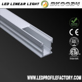 LED 빛 지구 유포자 LED 점화를 위한 알루미늄 단면도 밀어남