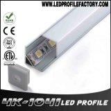Z4104 profil d'aluminium de l'extrusion DEL de coin de 90 degrés mini