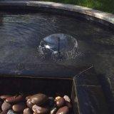 Fontaine solaire solaire sans frottoir de la pompe à eau de C.C 17V 10W