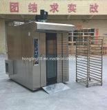 Horno rotatorio del estante del gas de la máquina 32-Tray de la hornada del pan