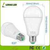 Новые электрические лампочки переключателя СИД E27 места 3 шага затемняя 17W-8W-2W греют белый шарик 2200-2700K