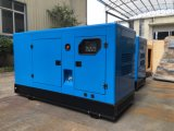 звукоизоляционный генератор 4 ходов 125kVA тепловозный с двигателем R6105azld Weichai