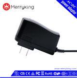 La FCC de la UL del nivel VI 12V 1A nos aprobó adaptador de la corriente ALTERNA de la pared del USB del enchufe