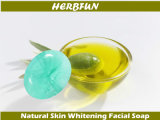 Lavage de blanchiment et d'hydratation de peau fabriquée à la main de fines herbes chinoise de face de savon d'hôtel de savon de face
