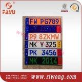 Номерные знаки японии, европейские номерные знаки, алюминиевый номерной знак